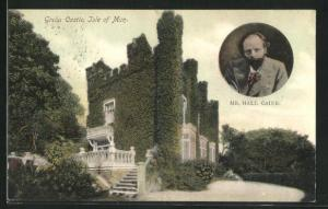 AK Isle of Man, Greba Castle, Mr. Hall Caine
