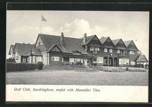 AK Sandringham, Golf Club, roofed with Marseilles Tiles