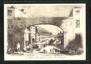 AK Dublin, Brewery of Arthur Guinness, Son & Co., St. James`s Gate (early 19th Century)