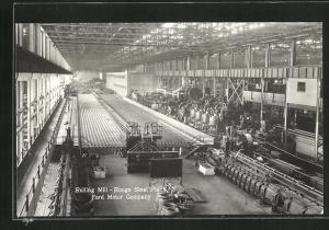 AK Dearborn, MI, Rouge Steel Plant, Ford Motor Company, Rolling Mill