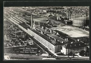 AK Detroit, MI, Lincoln Motor Company division of the Ford Motor Company