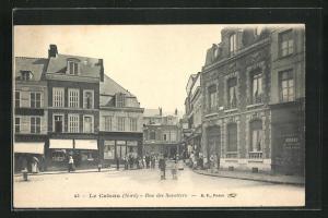 AK Le Cateau, Rue des Savetiers