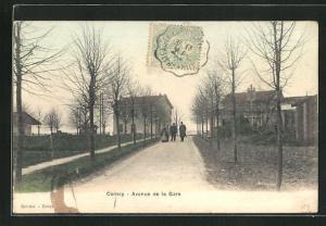 AK Coincy, Avenue de la Gare