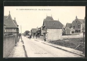 AK Lion-Hermanville, Rue de Ouistreham