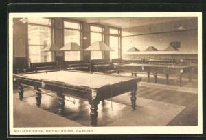 AK Dawlish, Bridge House, Billiard Room