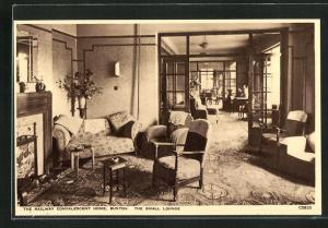 AK Buxton, The Railway Convalescent Home, The small Lounge