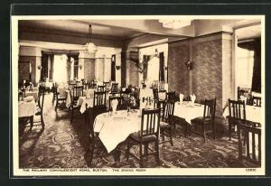AK Buxton, The Railway Convalescent Home, The Dining Room