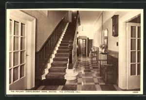 AK Buxton, The Railway Convalescent Home, The Entrance Hall