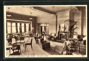 AK Buxton, The Railway Convalescent Home, The Main Lounge
