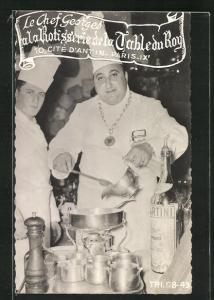 AK Paris, Le Chef Georges a la Rotisserie de la Table du Roy, 16, Cite d`Antin