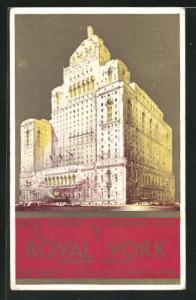 Künstler-AK Toronto, The Royal York Hotel