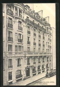 AK Paris, Victoria Palace Hotel, 6, Rue Blaise-Desgoffe