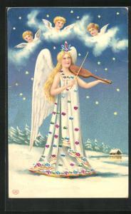 AK Engel spielt Geige