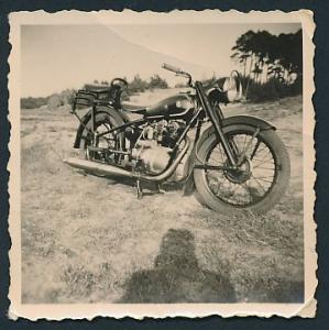 Fotografie Motorrad AWO 425, Krad