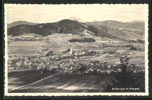 AK St. Georgen im Attergau, Totalansicht