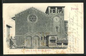 AK Perugia, Chiesa di Santa Maria di Monteluce