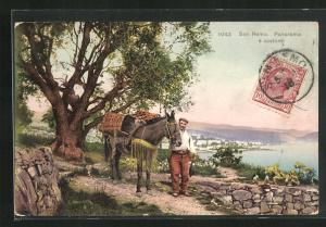 AK San Remo, Panorama e costumi
