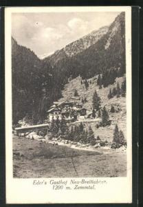 AK Zemmtal, Eder`s Gasthof Neu-Breitlabner