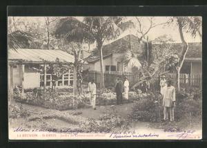 AK St-Denis, Jardin du Commissariat colonial