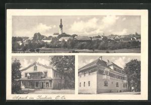 AK Aspach, Brauerei und Gasthof Hans Hofmann, Geschäft, Teilansicht