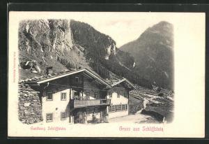 AK Zillertal, Gasthaus Schliffstein