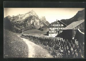 AK Schröcken, Ortspartie