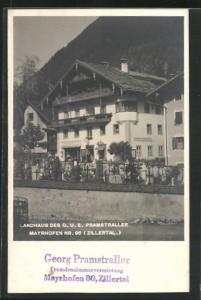 AK Mayrhofen, Landhaus des G.U.E. Pramstraller