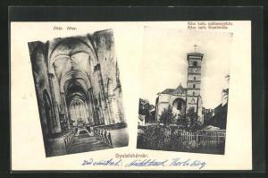 AK Gyulafehervar, Oltar / Altar, Rom. kath. szekesegyhaz / Domkirche