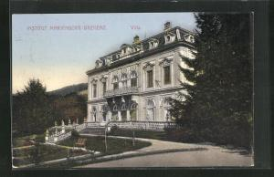 AK Bregenz, Institut Marienberg, Villa