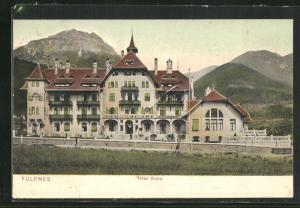 AK Fulpmes, Ansicht vom Hotel Stubai