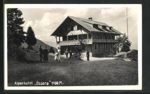 AK Frastanz, Ansicht vom Alpen-Hotel Bazora