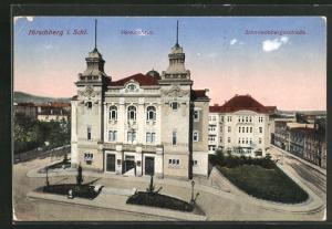 AK Hirschberg, Vereinshaus und Schmiedebergerstrasse