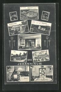 AK Vielsalm, Johanninum, Oekonomie, Speisesaal, Turbine