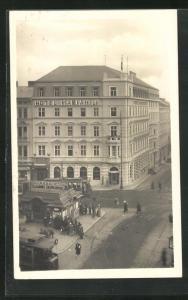AK Wien, Blick auf das Hotel Mariahilf