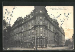 AK Montreal, Hotel Windsor