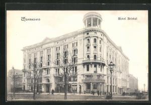AK Warschau-Warszawa, Hotel Bristol