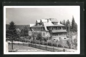 AK Zakopane, Luftwaffenheim Haus Schlesien