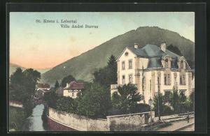 AK St. Kreuz, Villa Andre Burrus