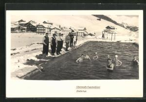 AK Hintertux, Thermalschwimmbad im Winter