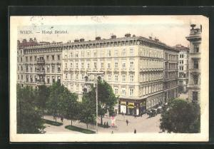 AK Wien, Hotel Bristol, Kärntnerstrasse 53-55