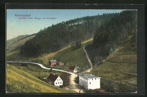 AK Reimsbachtal, Gasthof froher Morgen mit Försterei