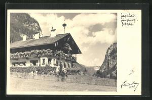 AK Mayrhofen-Ginzling, Pension Jagdhaus
