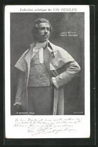 AK Opernsänger Leon Beyle, Opera Comique