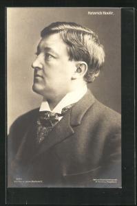 AK Opernsänger Heinrich Knote im Anzug