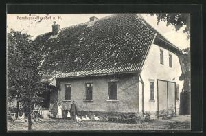 AK Neudorf a. H., Blick auf das Forsthaus