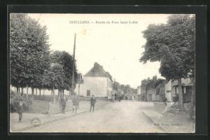 AK Doullens, Entrèe du Pont Saint Ladre