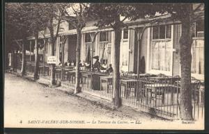 AK Saint-Valèry-sur-Somme, La Terrasse du Casino