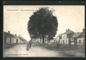 AK Vignacourt, Rue Armand-Cornet