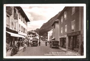 AK Saint-Gingolph, La Frontiere Franco-Suisse et la Douane Francaise
