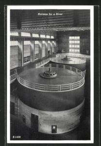 AK Norris Dam, TN, Harness for a River, Innenansicht von Kraftwerk